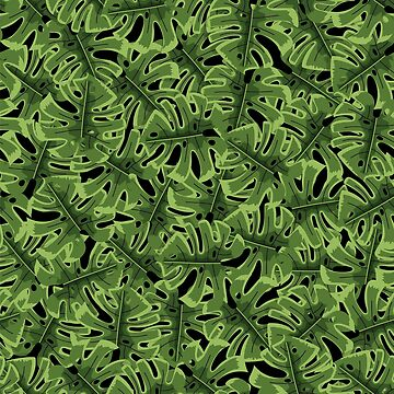 Tropical jungle seamless pattern by zao4nik