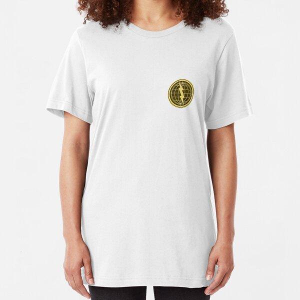 Earthbound - Franklin Badge Slim Fit T-Shirt