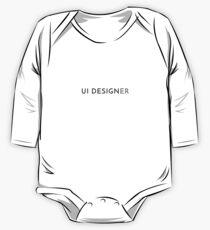 UI Designer (Inverted) One Piece - Long Sleeve