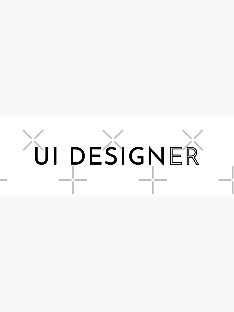 UI Designer (Inverted) by developer-gifts