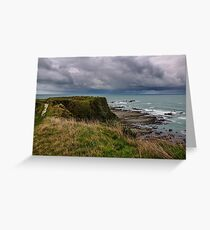 Storm Clouds off Kaikoura 1 Greeting Card