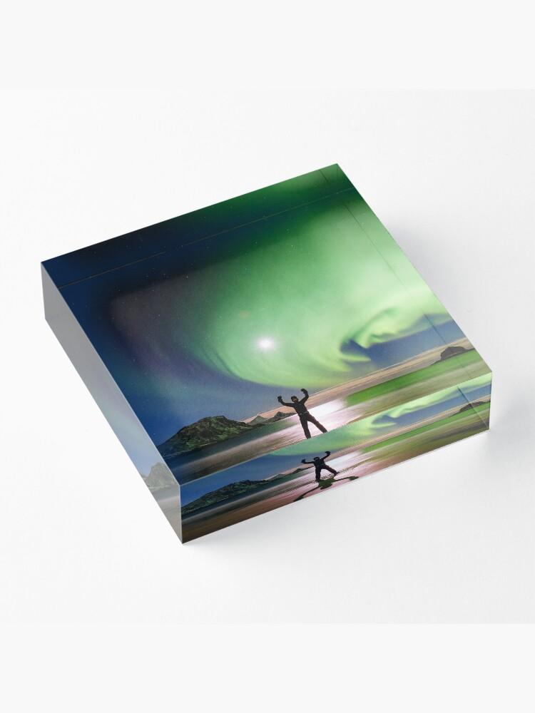 Bloc acrylique ''Magical Night': autre vue