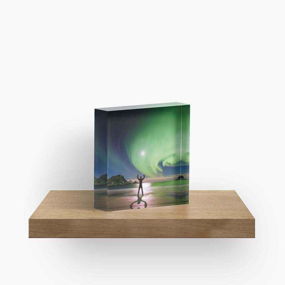 Bloc acrylique «Magical Night»