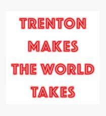 Trenton Makes Photographic Print