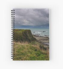 Storm Clouds off Kaikoura 1 Spiral Notebook