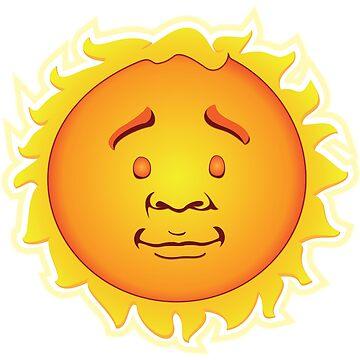 Limbo Smiling Celestial Sun by LeeinLimbo