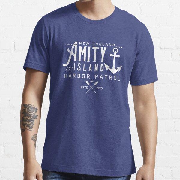 Amity Island - Shark Harbor Patrol Essential T-Shirt