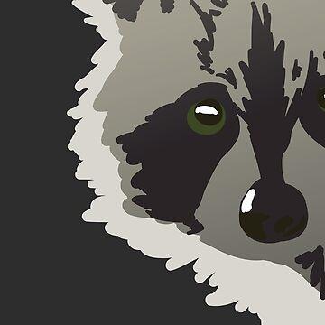 lurking trash panda by onelasttrick