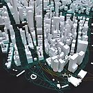 3D New York Map by sprkwd