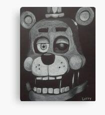 Lefty Canvas Print