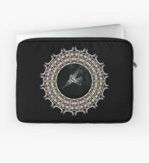 Birdwaching hummy mandala Laptop Sleeve