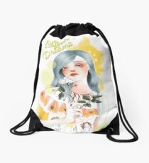 Live your dreams Drawstring Bag