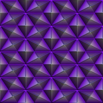 Purple polygon by BlackDevil