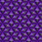 Purple polygon by BlackDevil