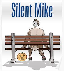 Silent Mike Poster
