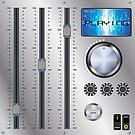Retro Audio Mixer by ProBEST