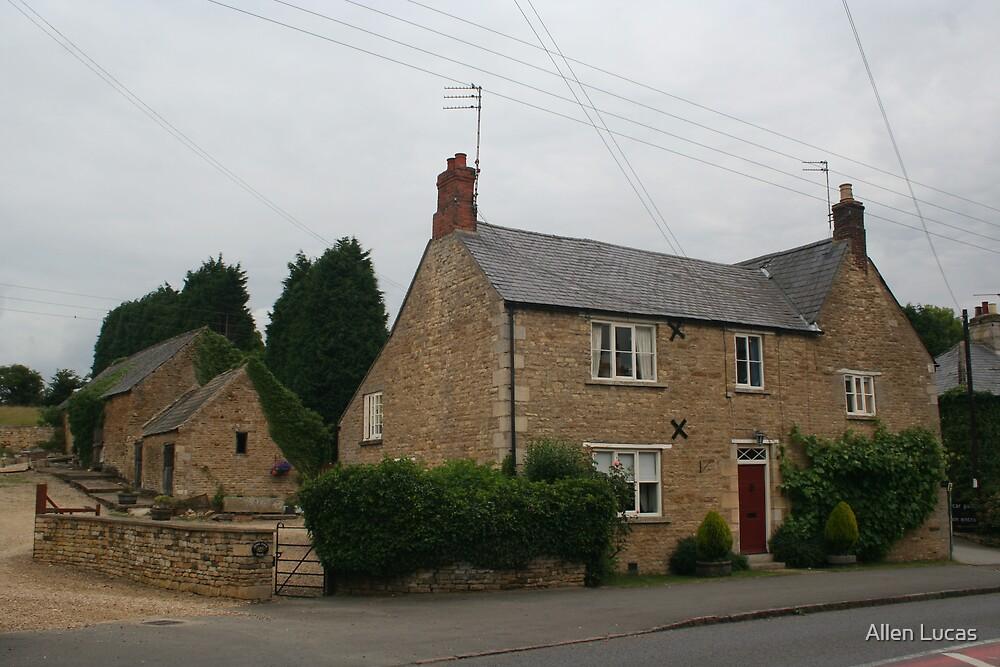 Home Farm House, Rutland Co., England by Allen Lucas