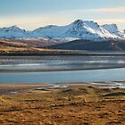 Buy  Ben Loyal. Kyle of Tongue. Winter Sunshine. Sutherland. Northern Scotland. by PhotosEcosse