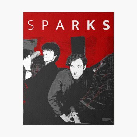 SPARKS (WHITE TEXT) Art Board Print