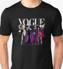 VOGUE PRINCESS VILLAINS Unisex T-Shirt