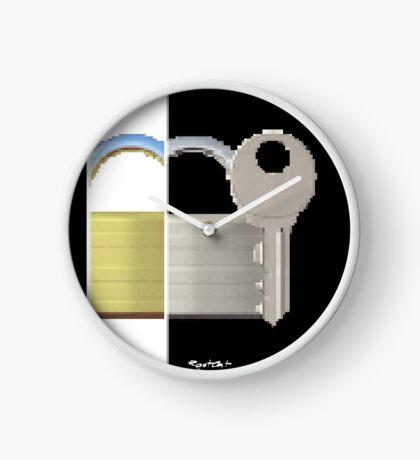 Securitii emoji 7 by RootCat (ska key) Clock