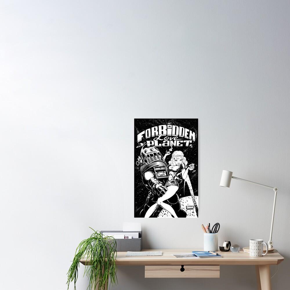 FORBIDDEN LOVE PLANET Poster