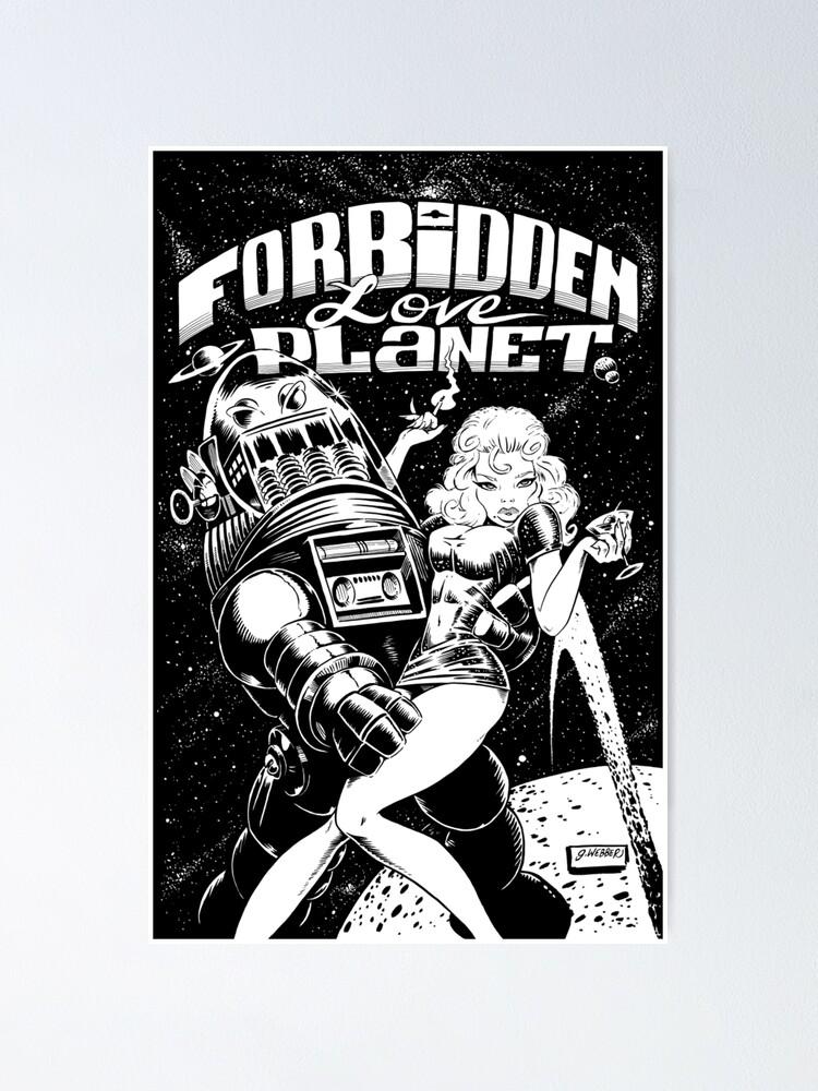 Alternate view of FORBIDDEN LOVE PLANET Poster