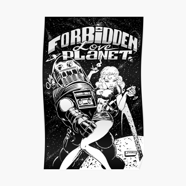 FORBIDDEN LOVE PLANET Poster