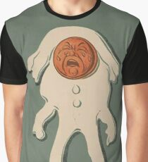Crying Broken Humpty-Dumpty Graphic T-Shirt