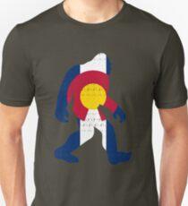Bigfoot Colorado Patriotic Unisex T-Shirt