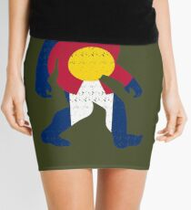 Bigfoot Colorado Patriotic Mini Skirt
