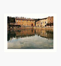 Place of reflectios Art Print