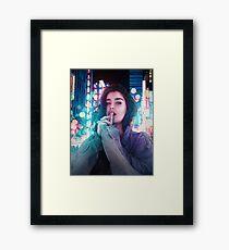 Lost In Japan Framed Print