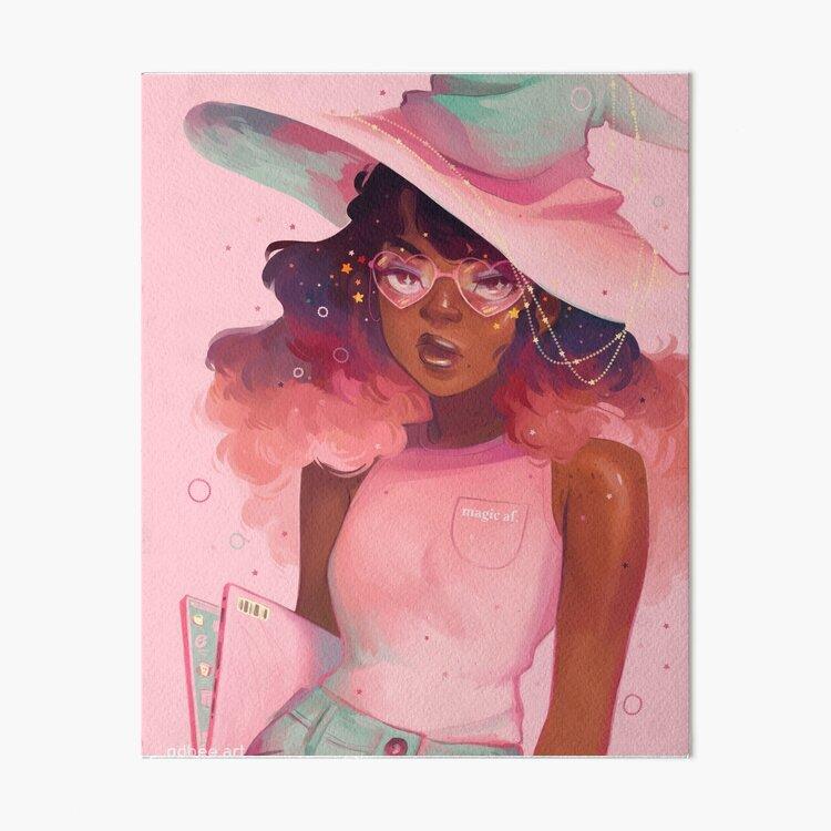 Magic AF Art Board Print