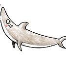 Hai - Kuss - Haifisch - Smak - Herz - Liebe von JunieMond
