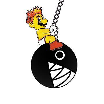Mario Wrecking Ball  by Rodmarck