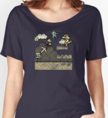 Mega Man Joins The Battle! Women's Relaxed Fit T-Shirt