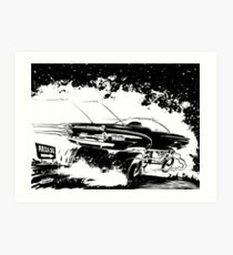 AREA 51 STAR CRUISER Art Print