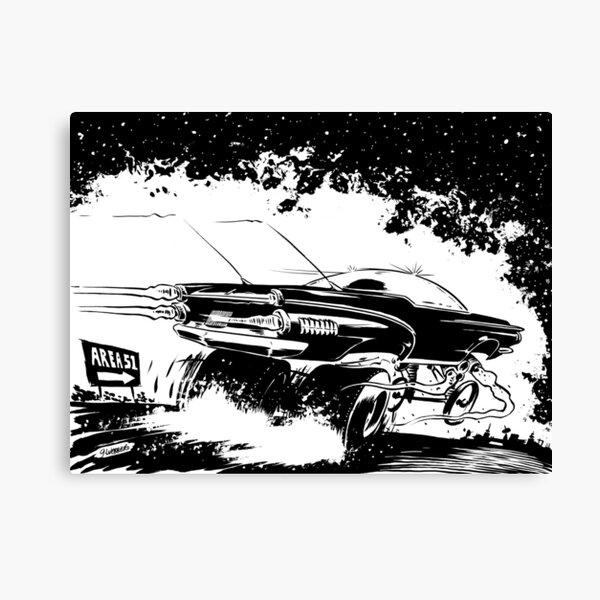 AREA 51 STAR CRUISER Canvas Print