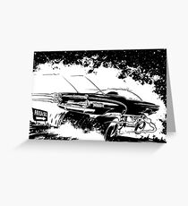 AREA 51 STAR CRUISER Greeting Card