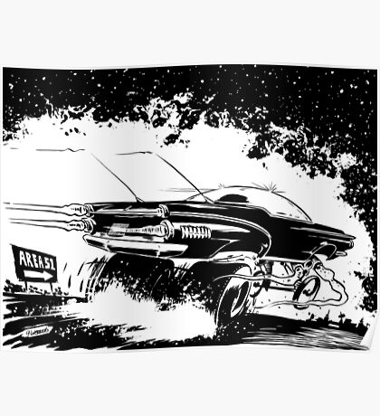 AREA 51 STAR CRUISER Poster