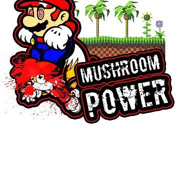 Mushroom Power by Rodmarck