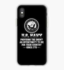 US Navy Since 1775 iPhone Case