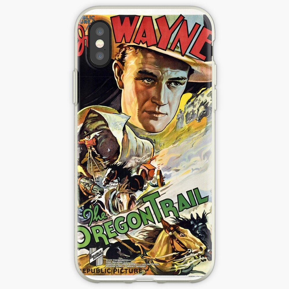 Vintage poster - The Oregon Trail iPhone Case & Cover