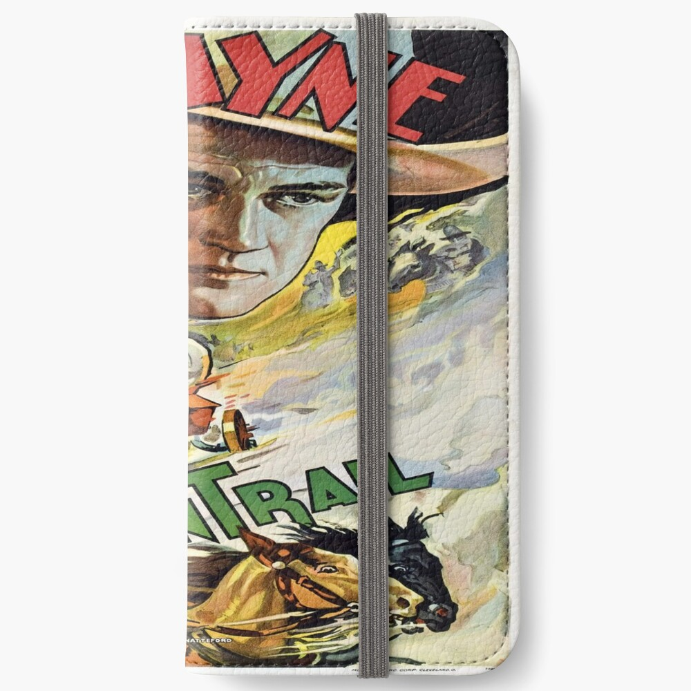 Vintage poster - The Oregon Trail iPhone Wallet