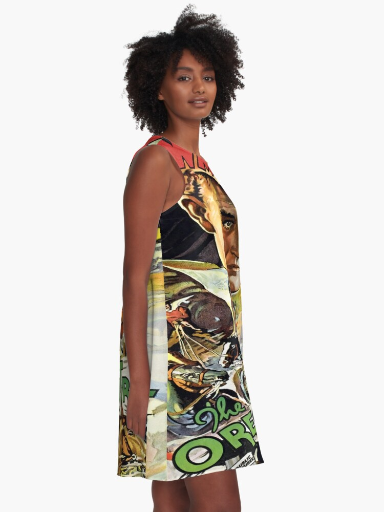Alternate view of Vintage poster - The Oregon Trail A-Line Dress