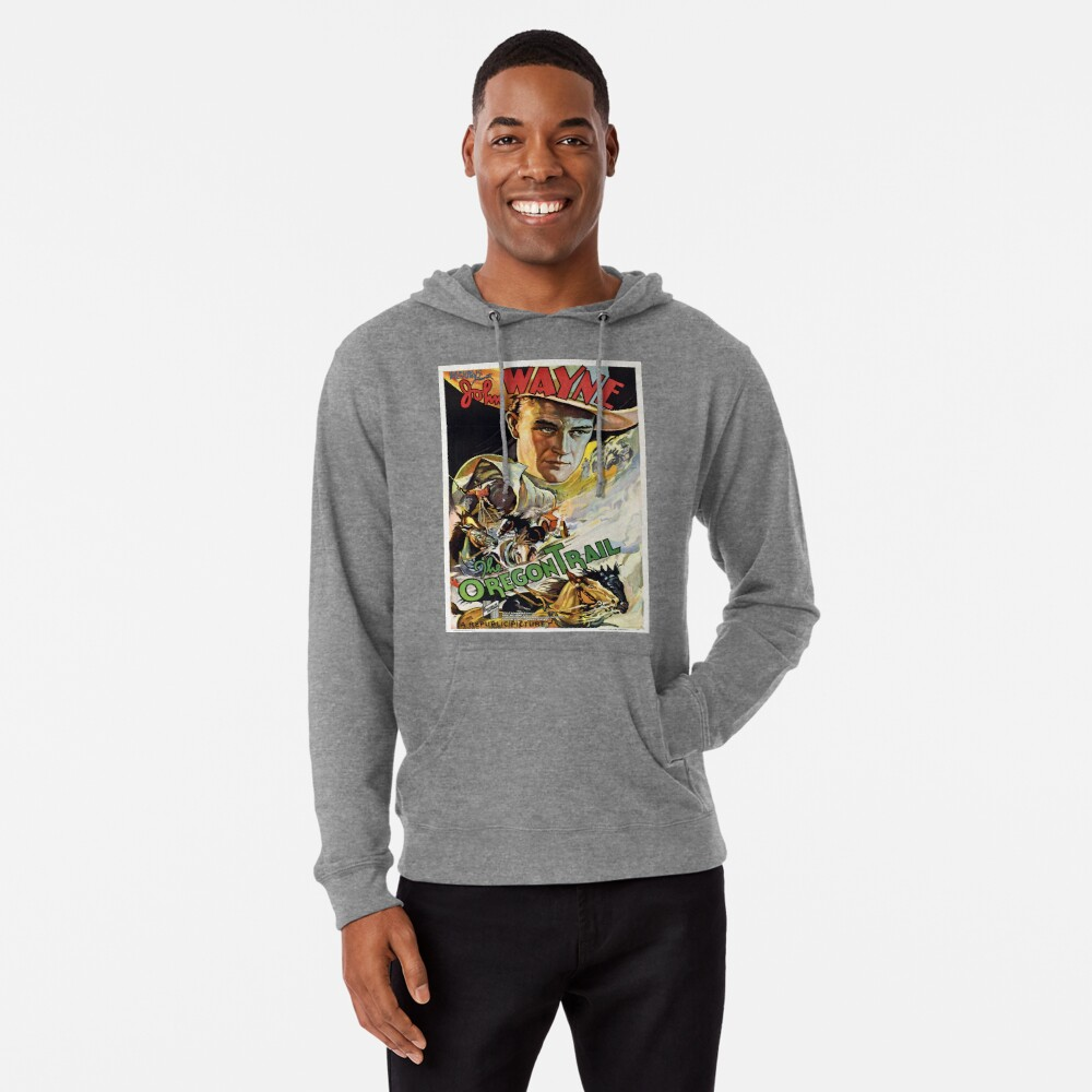 Vintage poster - The Oregon Trail Lightweight Hoodie