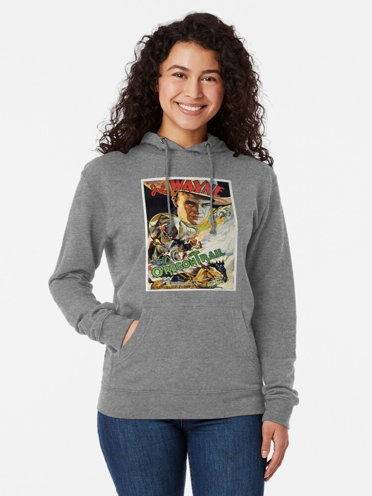 Alternate view of Vintage poster - The Oregon Trail Lightweight Hoodie