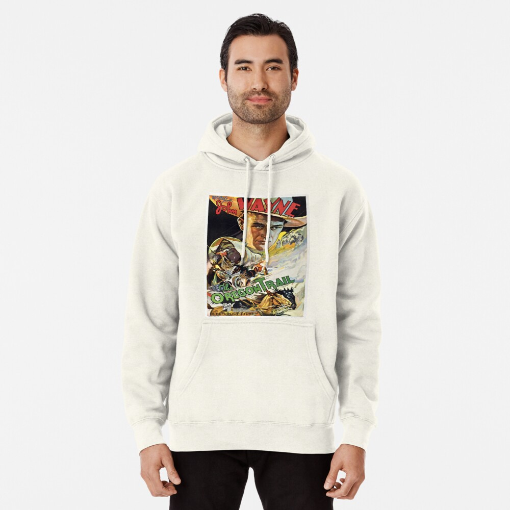 Vintage poster - The Oregon Trail Pullover Hoodie