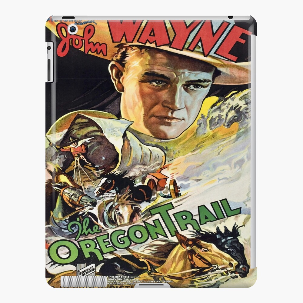 Vintage poster - The Oregon Trail iPad Case & Skin